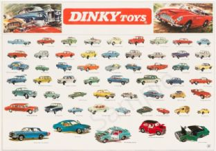 Dinky Car Poster